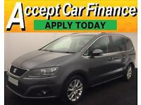 Seat Alhambra 2.0TDI DPF CR ( 140ps ) 2012MY SE Lux FROM £51 PER WEEK