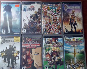 PSP games collection