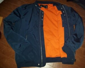 RETRO DIESEL INDUSTRY No.78 military bomber jacket zip away coll