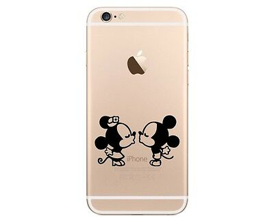 iPhone 6 Sticker Mickey Mouse And Minnie Mouse iPhone 7 Stickers Apple Stickers