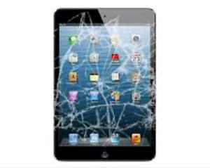 iPad Mini Screen Broken Repair Starts $75 / 1Hr Service
