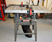 Craftsman Table Saw - 8 inch Blade