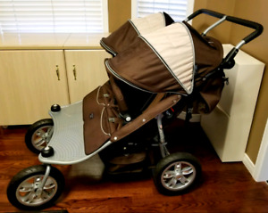 Vaco Tri mode Ex double stroller, mint condition