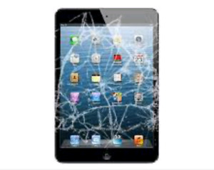 iPad air 1 Screen Replacement $75 / 1hr Service