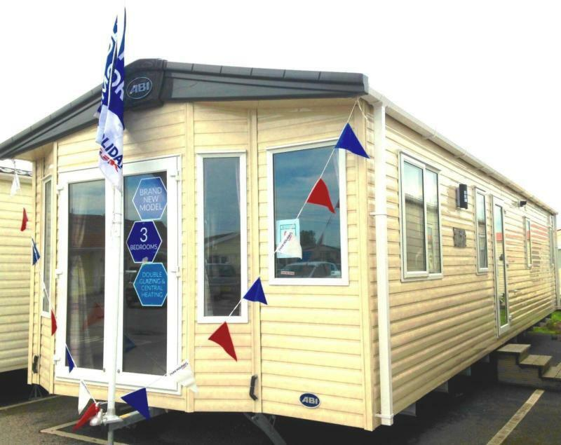 Static Caravan Nr Clacton-on-Sea Essex 3 Bedrooms 8 Berth ABI Fairlight 2017