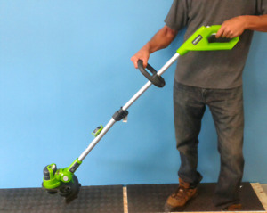 Cordless trimmer & leaf blower combo for sale