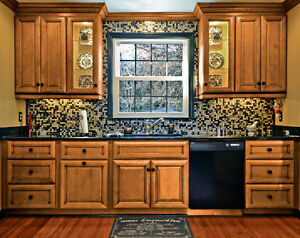 Tuscan style full wood kitchen - NO TAX ON ALL KITCHENS!