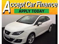 Seat Ibiza 1.4 ( 150ps ) SportCoupe DSG 2010MY FR FROM £31 PER WEEK !