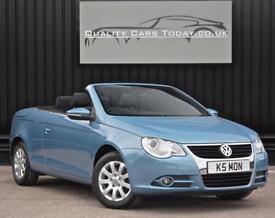 2009 Volkswagen VW Eos 1.4 TSI SE * Leonie Blue + Glass Roof + 6m Warranty