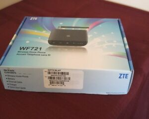 ZTE Wireless Home Phone Base WF721 - Fido