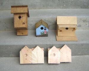 New Birdhouses & Kids Birdhouse Building Kits, Railing Planter