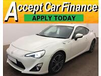 Toyota GT86 FROM £77 PER WEEK!