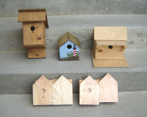 New Birdhouses  and Kids Birdhouse Building Kits, Planters