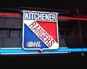 4 GOLD Seats Kitchener Rangers for Friday Jan 27th vs North Bay