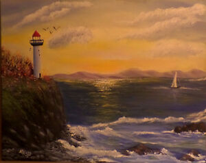 Learn how to paint Jelly Bean Houses, and Newfoundland scenes St. John's Newfoundland image 4