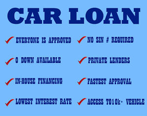 Guaranteed auto loan | BAD CREDIT APPROVED | zero down available