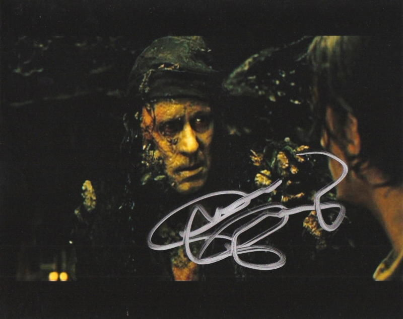 STELLAN SKARSGARD.. Pirates of The Caribbean - SIGNED