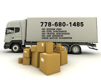 Moving? We've got the best rates in the lower mainland!