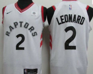 RAPTORS NBA Jersey #2 Leonard, (White) New in large only