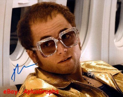TARON EGERTON.. Rocketman's Elton John - SIGNED