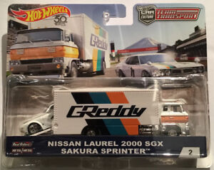 Hotwheels Nissan Laurel 2000 SGX Sakura Sprinter- 1 left
