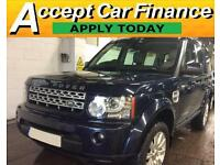 Land Rover Discovery 4 FROM £124 PER WEEK!