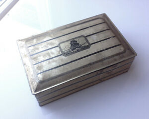 Antique Brass Box early 1900's