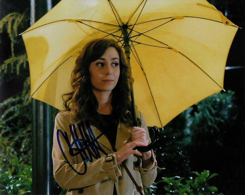 CRISTIN MILIOTI.. How I Met Your Mother - SIGNED