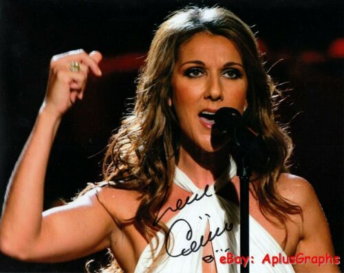 CELINE DION.. Power Of Love Singer - SIGNED