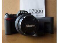 NIKON D7000 with 18-55 lens