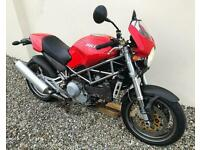 DUCATI MONSTER S4 - 916 - SUPERB FACTORY STANDARD EXAMPLE + CARBON EXTRAS - PX