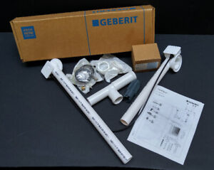 New Geberit Overflow Drain Pipe and Trim Kit for Tubs/Whirlpools
