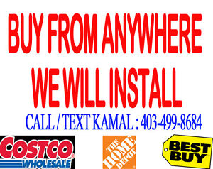SECURITY CAMERA-BUY FROM ANYWHERE-WE WILL INSTALL - 403-499-8684