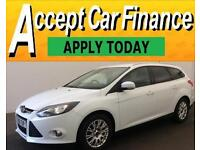 Ford Focus 1.6 TI-VCT ( 125ps ) Powershift 2012MY Titanium FROM £36 PER WEEK !