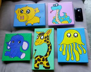 Kids wall art Phegans Bay Gosford Area Preview