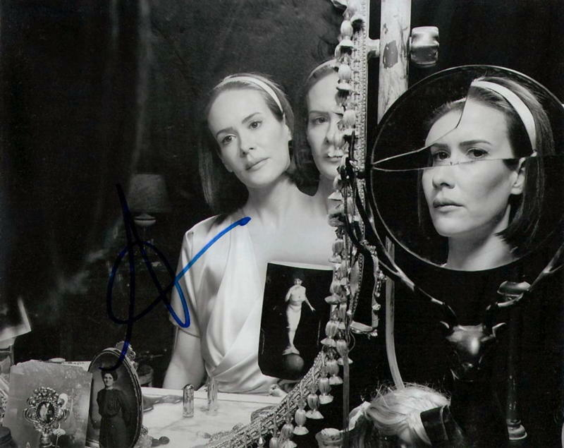 SARAH PAULSON.. American Horror Story: Freak Show's Bette & Dot - SIGNED