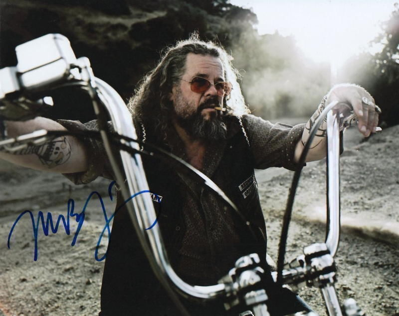 MARK BOONE JUNIOR.. Sons of Anarchy's Munson - SIGNED