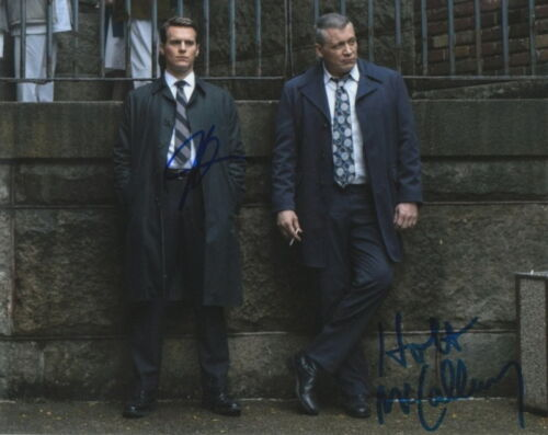 MINDHUNTER.. Jonathan Groff with Holt McCallany - SIGNED