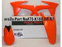 New Plastic Kit All Orange KTM SX SXF 125/250/350/450 11-12 2011 2012 Plastics