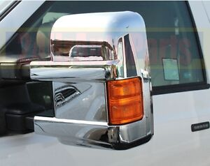 Ford Super Duty F250+F350+F450+Signal Hole 2 Chrome Mirror 08-16
