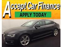 Audi A5 2.0TDI ( 177ps ) Sportback 2012MY S Line FROM £72 PER WEEK !