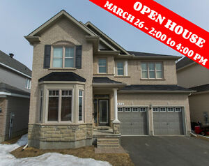 OPEN HOUSE SUNDAY MARCH 26 from 2-4 PM NEW 4BED 3BATH in Orleans