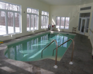 House with Indoor Heated Pool