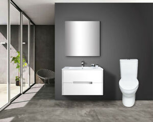 Skirted One Piece Toilet, Ideal Height, New - 2 models