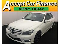 Mercedes-Benz C180 1.6 ( 154bhp ) Blue FROM £77 PER WEEK