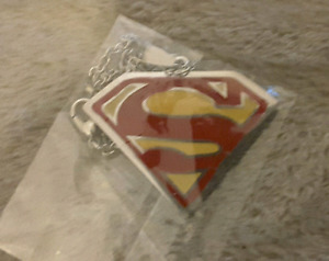 Superman pendant and Chain