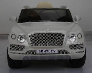 Licensed 12V Bentley Baby / Child / Kid Ride On To Car / SUV with Leather Seat, Doors, 2.4Ghz Parent Remote Controller