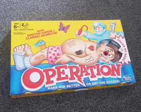 Operation Board Game by Hasbro