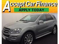 Mercedes-Benz ML300 FROM £98 PER WEEK!