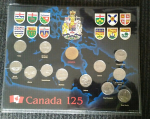 Canada 125 Coin Collection